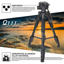 Zomei Q111 Camera Tripod Camcorder Stand With Pan Head Plate For Canon NikonDSLR