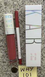 KAB Cosmetics Lip Duo: Lip Liner & Lip Gloss CHARMING Full Sizes NEW BOX RET$30