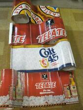 "CORRUGATED ROLLS OF BEER SIGNS 23' X 16"" (7 DIFFERENT BRANDS)*READ DESCRIPTION*"