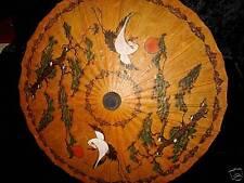 Sonnen Dekoschirm Asien Kunst Deko Vogelmotiv #656