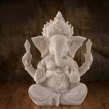 Feng Shui Resin Crafts India Elephant Head Buddha Statue Home Decoration 13.5cm