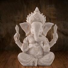 Feng Shui Resin Crafts India Elephant Head Buddha Statue Home Decoration 13.5cm