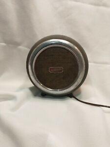 Vintage Motorola External 8 inch diameter  Circular Metal Speaker