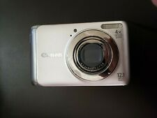 Canon PowerShot A3100 Is 12.1Mp Digital Camera - Silver No charger cord