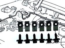 Pontiac GTO Trans am Firebird Front Fender Wheel Well Hardware Bolts 12pcs OB