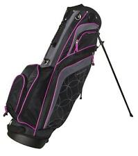 New Tommy Armour Golf- Ladies Torch Stand Bag Black/Pink