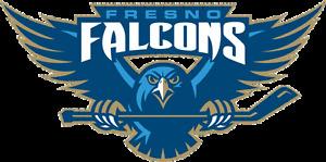 Fresno Falcons Defunct ECHL Hockey Mens Polo XS-6XL, LT-4XLT New