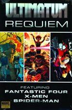 Ultimatum Requiem HC Ultimate Spider-Man X-Men Fantastic Four Bendis Bagley new