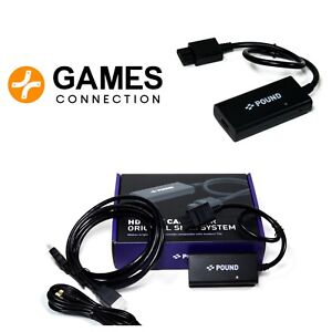 HD Link Cable for SNES & GameCube HDMI NTSC only (Not PAL) Official Stockists UK