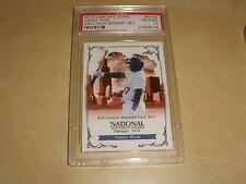 2013 Leaf National Convention Exclusive Redemption Set NYP 2 Yasiel Puig PSA 10