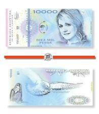 Argentina 10000 Pesos 2020 Unc Polymer Maxima Zorreguieta Specimen Private Note