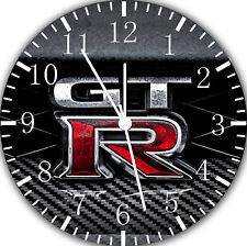 Nissan GTR Frameless Borderless Wall Clock Nice For Gifts or Decor F116