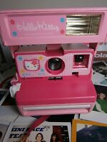 Polaroid pink kitty   RARE  Camera-Instant+FILM/CASE INCLUDED IDEAL***  GIFT*