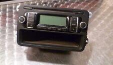 VW Golf MK5 radio reproductor de CD estéreo 1K0035156A (sin código)