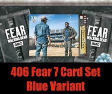 406 FEAR BLUE (7 CARD SET) PRESALE Topps Walking Dead Digital Card Trader FTWDCT