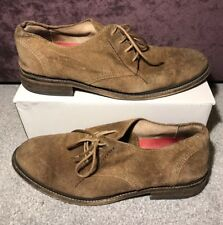 FLY LONDON HOCOFLY MEN'S BROWN SUEDE  SHOES SIZE LACE UP USED FORMAL UK9 EU43 (1