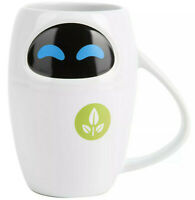 Disney Store Eve 3D Shaped Mug Wall-e Pixar Tea Coffee Cup Rare Disneyland Paris