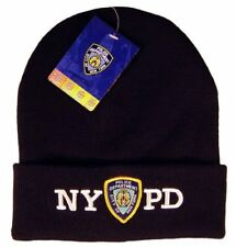 NYPD Navy Winter Hat Beanie Skull Cap Officially Licensed by The New York...