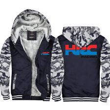 Warm Thicken HONDA HRC Hoodie Jacket Cosplay Sweater Fleece coat Team Race