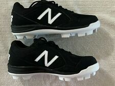 New Junior New Balance All-Star Low Molded Baseball Cleats Black Sz 3.5