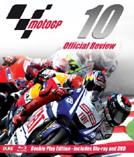 MOTO GP 2010 - JORGE LORENZO - MotoGP Grand Prix Season Review NEW BLU-RAY + DVD