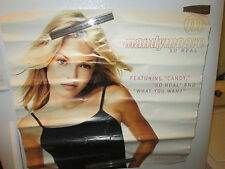 Mandy Moore Poster Rock 1999 Record Store Promo Collectable Display Vintage
