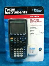 ⭐BRAND NEW-Sealed⭐ Texas Instruments TI-83 Plus Graphing Calculator