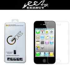 Real Transparent Matte Frosted Tempered Glass For iphone 4 3.5''