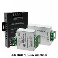 LED RGBW RGB Amplifier DC12 24V 24A Output For RGBW RGB LED Strip Power Repeater