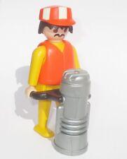 Playmobil Baustelle Bauarbeiter RÜTTLER Stampfer Bau Figur Strassenbau 3745