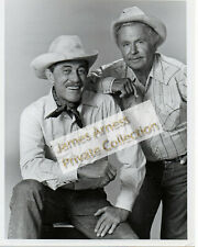 James Arness Gunsmoke Marshal Dillon Ken Curtis Noah Beery Old Cowhands Photo