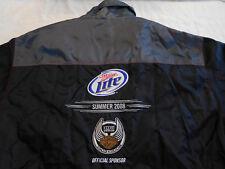 Miller Lite x Harley Davidson 105 Years Jacket Windbreaker Coat XL