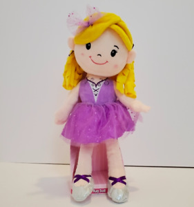 """15"""" Rag Doll Ballerina By Play Right Cute Soft & Cuddly Plush Doll Ages 2+ *NEW*"""
