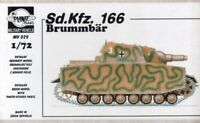 Planet Models 1:72 Pz. Kpfw 166 Brummbar Resin Model Kit #MV029