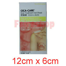 12cm x 6cm Cica-Care Old New Red Raised Scar Treatment Reduce Gel Sheet Reuse
