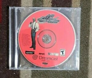 King of Fighters: Evolution (Sega Dreamcast, 2000)  VG Shape Tested