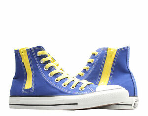 Converse Chuck Taylor All Star Side Zip Radio Blue/Yellow Hi Sneakers 142295C