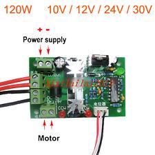 Motor de velocidad10V 12V 24V 30VReversible PWM Regulador de botón de control
