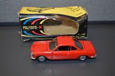 Vintage Politoys Coupe Siata Fiat 1500 Art #502 Die cast 1:43 Scale