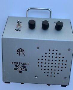 APH for The Blind Portable Sound Source 2003