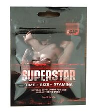 SUPERSTAR Natural Male Sexual Enhancement for Men / Sex Pill for Max Support
