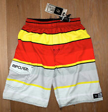 NEW RIP CURL BOYS YOUTH Amplify Volleyball BOARDSHORTS / SWIM TRUNKS - SMALL