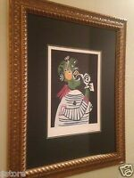 "Picasso's Lithograph Limited Edition 12 of 500 ""Women in Distress"" Nicely Framed"