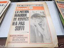 FRANCE FOOTBALL 1540 (10/75) la potion magique de KOVAC