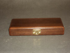 Handcrafted Walnut Day Humidor with Cherry Details