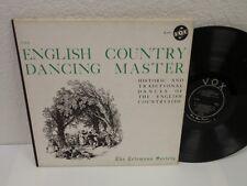RICHARD SCHULZE The English Country Dancing Man LP Vox DL470 Mono RVG Telemann