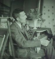 Photograph of Maurice Brianchon, French Artist, Magic Lantern Glass Slide