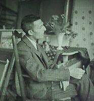 Photograph of Maurice Brianchon, French Artist, Magic Lantern Glass Slide