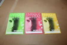 Enrique Iglesias - 3 x Backstage Pass - Rare   -  FREE SHIPPING