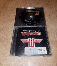 Wolfenstein 3d (PC, 1998) & Return to Castle Wolfenstein  (DISCS ONLY NO CODES)